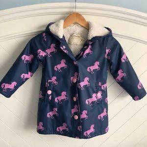 Harley Horse Sherpa Lined Raincoat